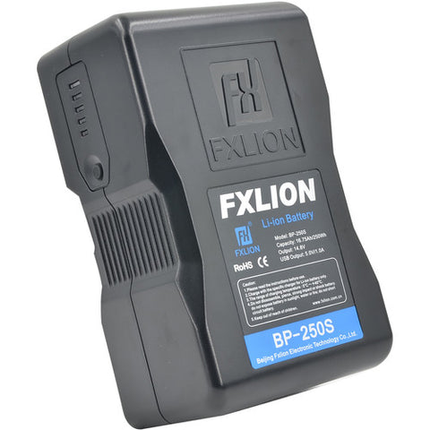 Fxlion Cool Black Series BP-250S 14.8V Lithium-lon V-Mount Battery (250Wh)