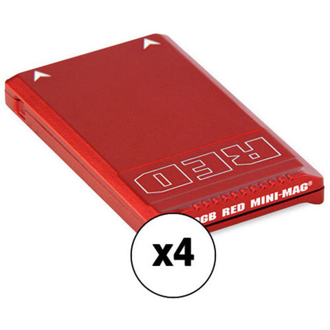 RED Mini-Mag (480GB, 4-Pack) Kit with Water Resistant Case