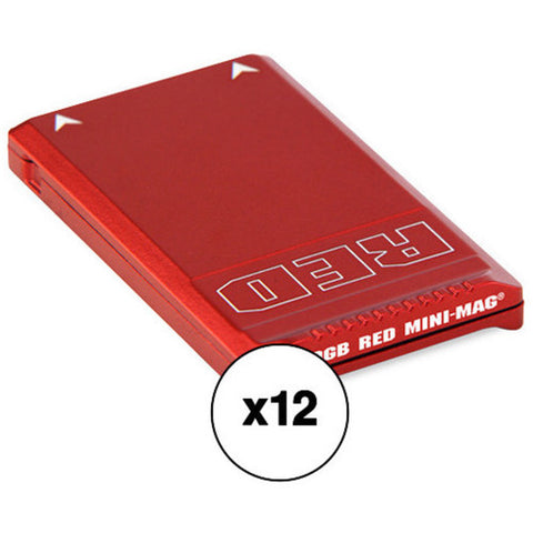 RED Mini-Mag (480GB, 12-Pack) Kit with Water Resistant Case