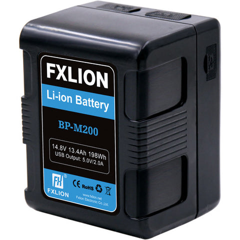 Fxlion Square 198Wh 14.8v V-mount Battery