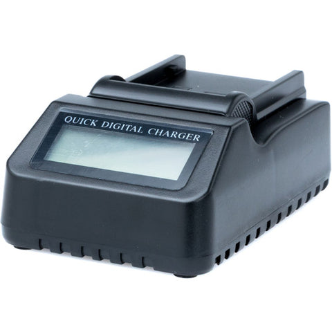 Fxlion Mono-Channel DV Li-Lon Battery Charger with LCD Screen for Canon BP-975&DC-C78