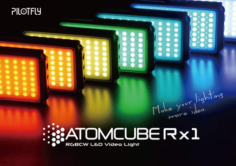 Pilotfly AtomCube Rx1 Portable LED Video Light