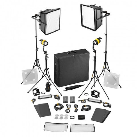 Dedo 4 Light Kit-BI-Color (2x DLED4 & 2x Felloni)