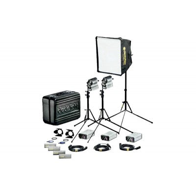 Dedo 200w Sundance HMI 3-Light with Hard Case       Rental 2950 per Day