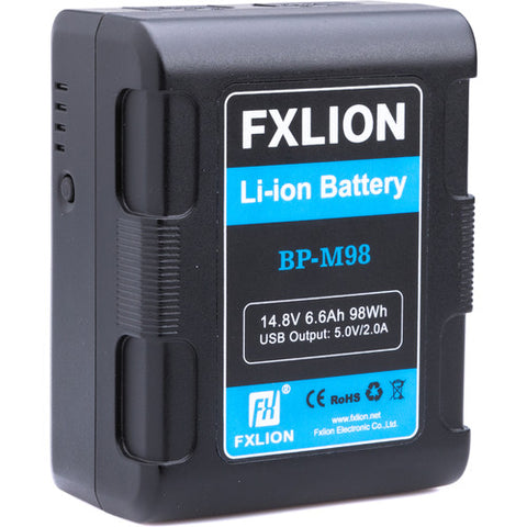 Fxlion Square 98Wh 14.8V V-Mount Battery