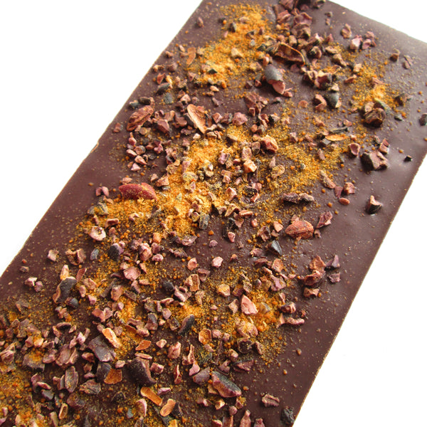 NAVILUNA Cacao Nib & Coconut Sugar Chocolate Bar