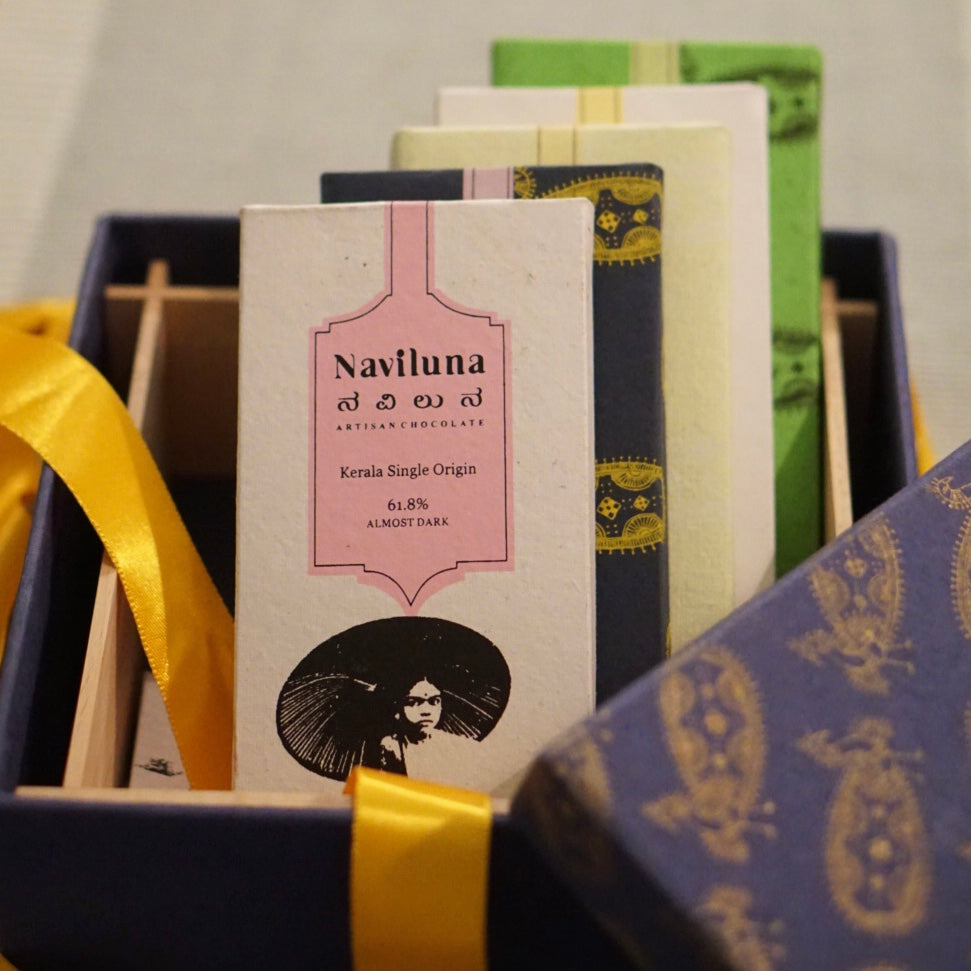 NAVILUNA Chocolate Lover Gift Box (6 Pack)