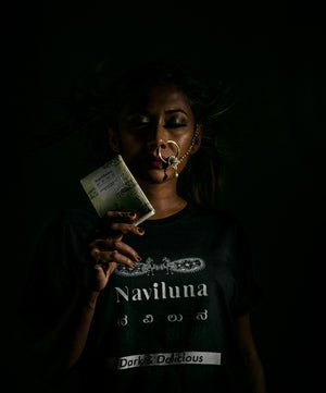NAVILUNA Dark & Delicious T-Shirt + Free Chocolate Bar + Free Delivery