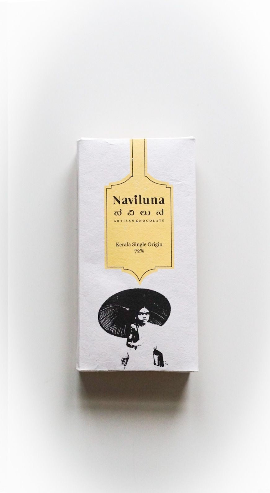 NAVILUNA Classic 72% Kerala Single Origin Chocolate Bar