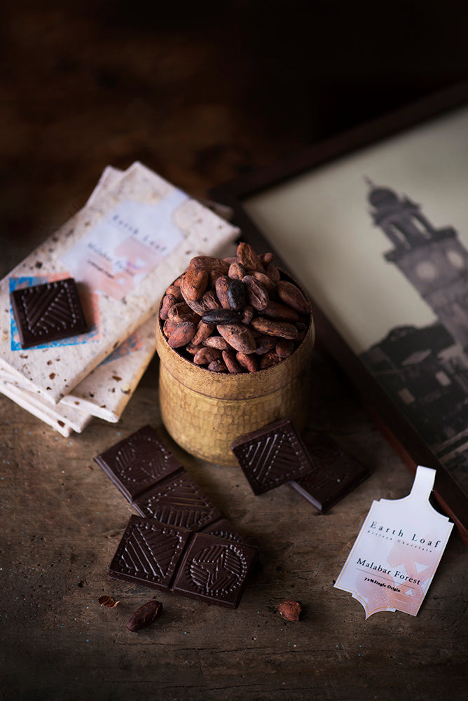 India's only 2 ingredient single origin dark chocolates
