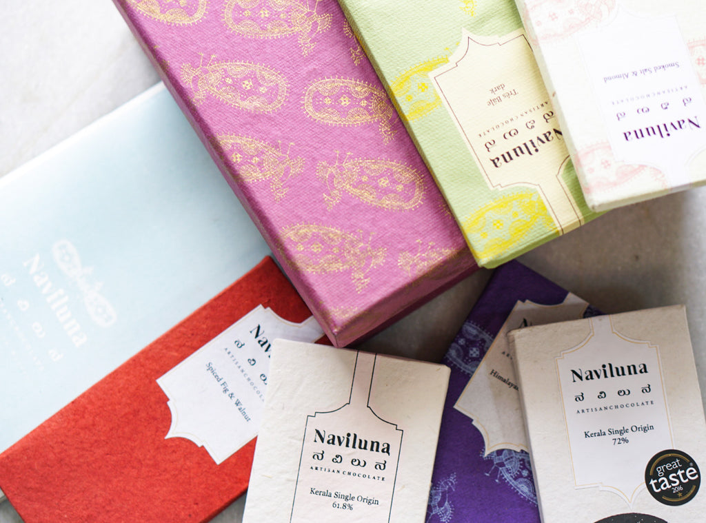 NAVILUNA Editorial Chocolate Subscription Box