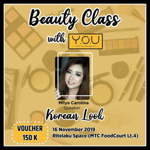 Voucher Workshop Beauty Class With You Cosmetic