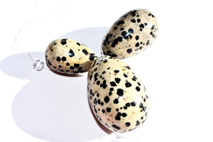 Dalmation Stone Yoni Egg