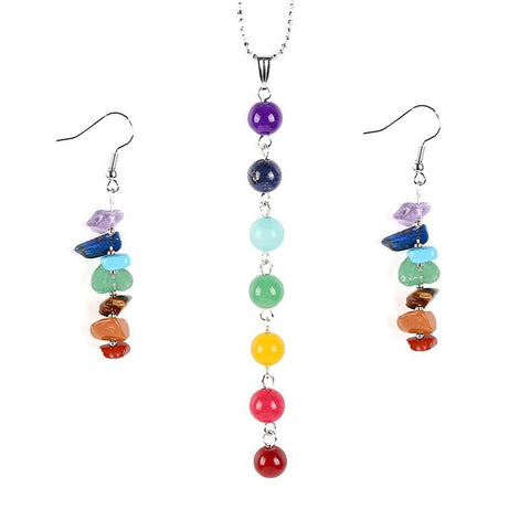 The Reiki Rainbow Chakra Set