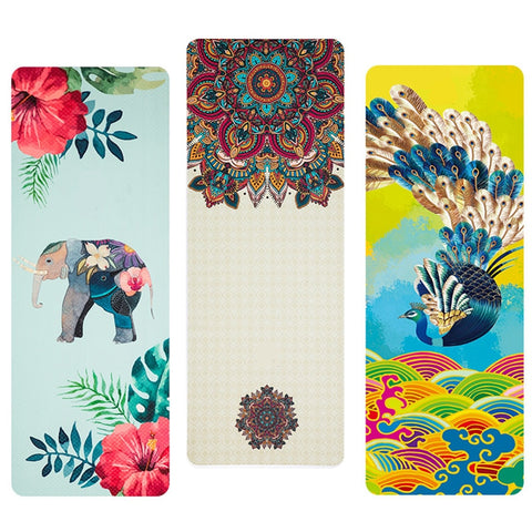 3D Colorful Printed Yoga Mat
