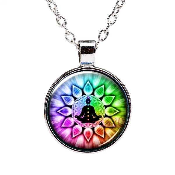 The Flower of Life Silver Chain & Pendant