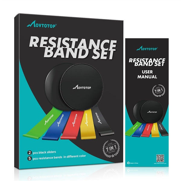 5pcs Resistance Band Set
