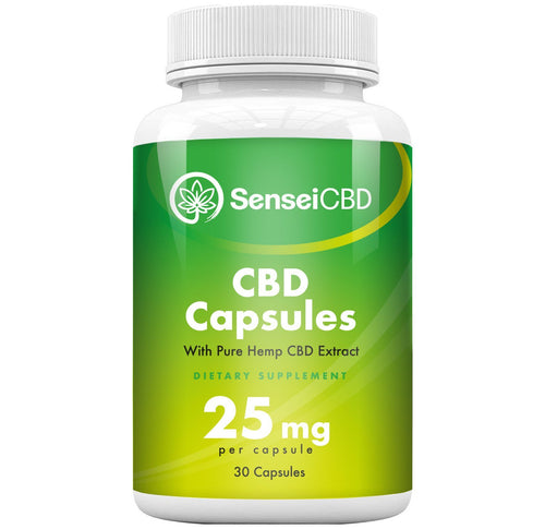 CBD Capsules - Full Spectrum 25mg (30ct)