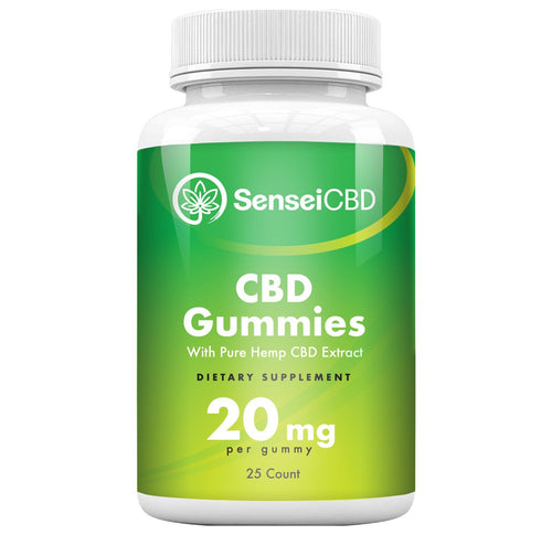 CBD Gummies - Isolate 20mg