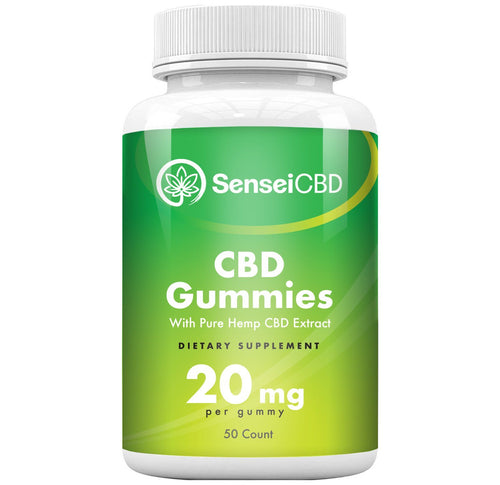 CBD Gummies - Isolate 20mg (50ct)