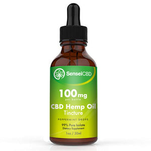 CBD Oil Tincture (Peppermint)