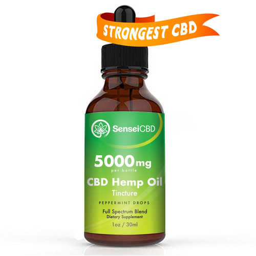 Strongest CBD Oil - Full Spectrum