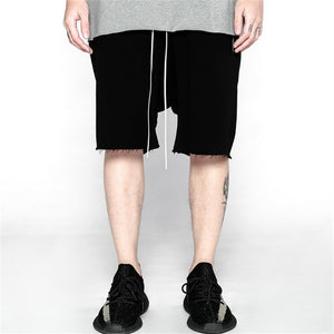 Loose Knee Length Pants