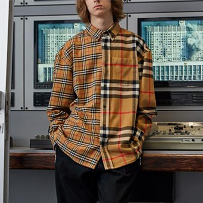 Patchwork Plaid Shirt