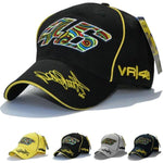 Outdoor Sports Baseball Cap Valentino Rossi VR46 Motorcycle Racing MOTO GP Hat