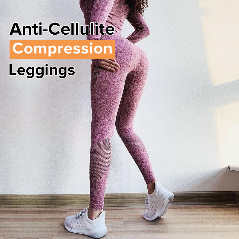 Anti-Cellulite Compression Endurance Seamless Leggings