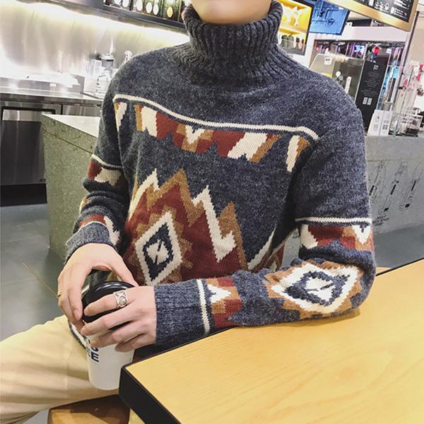 Turtleneck Knitted Sweaters