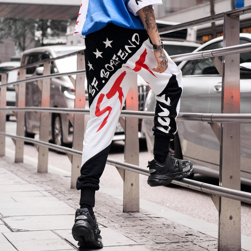Lined Star Joggers
