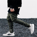 Side Zipper Men Slim Jogger