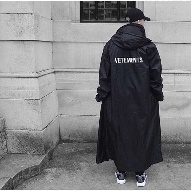 Vetements Jackets 1:1 DHL Oversized Raincoat Windbreaker