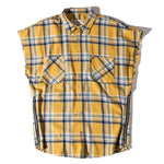 Multi-color Loose Waistcoat Shirt