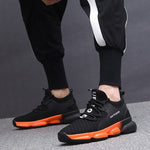 Breathable Gradient Sole Sneakers