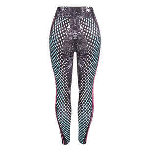 Printed Letters Sports Yoga Fitness Pants