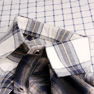 Tricolor Splicing Shirt