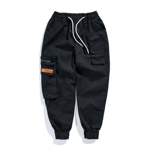 Camouflage Side Pockets Loose Jogger