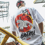 Crane Chinese Charaters T-Shirts