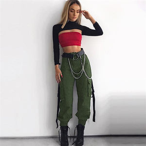 Streamers High Waist Pants