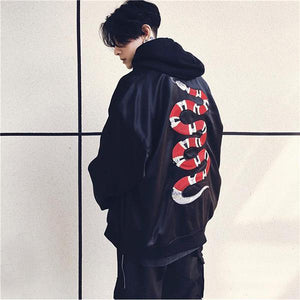 SNAKE EMBROIDERY JACKET