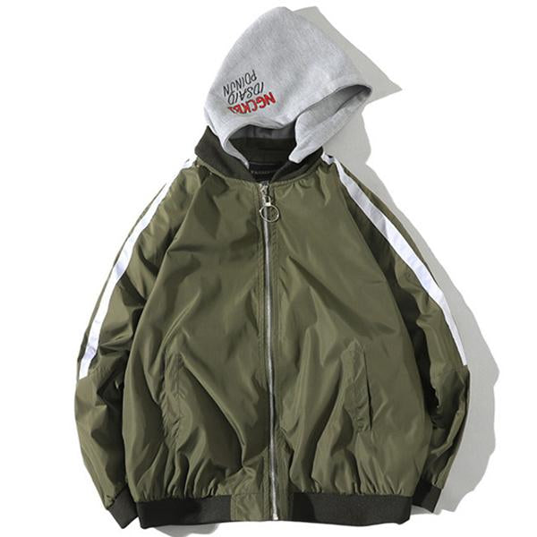 Removable Hooded Jackets