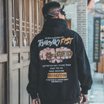TOMOAKI FIST Printed Hoodies