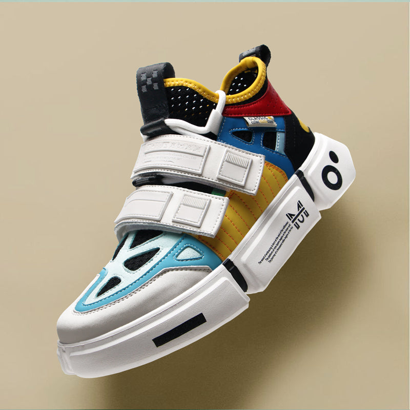 Fashion Color Block Sneakers