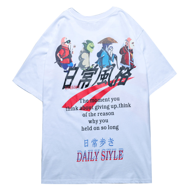 Dragon Ball Daily Style T-shirt