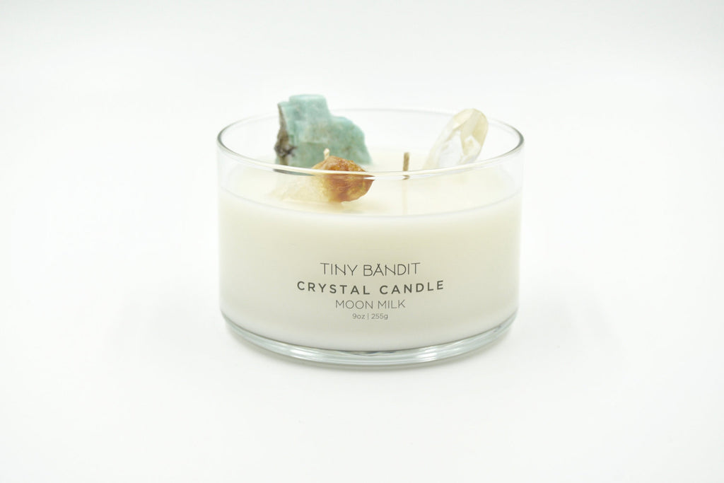 CRYSTAL CANDLE / MOON MILK
