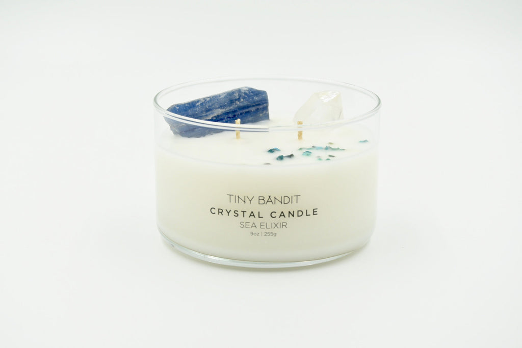 CRYSTAL CANDLE | SEA ELIXIR