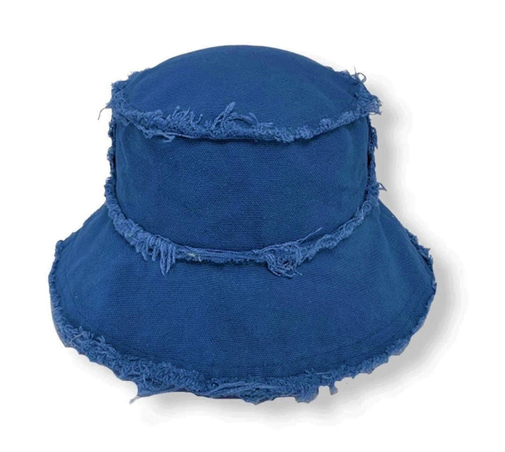 THE INTO THE BLUE DENIM BUCKET HAT