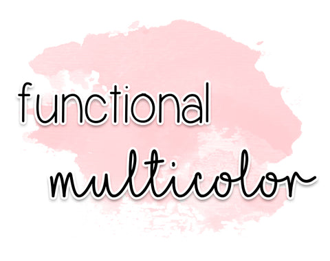 functional multicolor